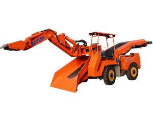 LWT-80 Wheel Mucking Loader
